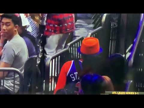 Spike Lee Leaves NY Knicks Atlanta Hawks Playoffs Game 5 With 3:10 Remaining