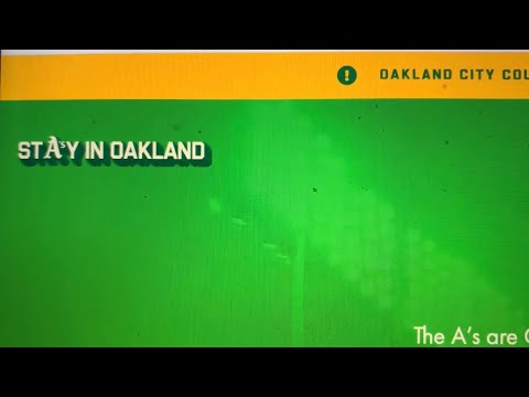 StayInOak.Land Is A New Website To Encourage Officials To Get A Deal To Keep The Oakland Athletics