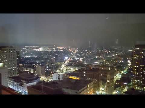 2021 Fireworks from a Downtown Penthouse in Oakland