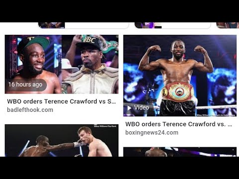 Boxing WBO Boxing Commission Ordering Terence Crawford Shawn Porter To Fight,By Eric Pangilinan