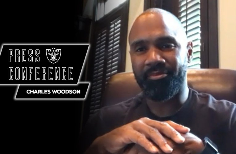 Charles Woodson Details Career-Defining Moment Ahead of Hall of Fame Induction   Las Vegas Raiders