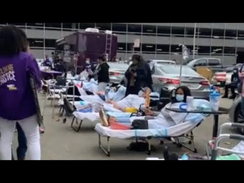 Kaiser HQ Oakland Site Of Giant Health Care Workers Layoffs Protest Wednesday