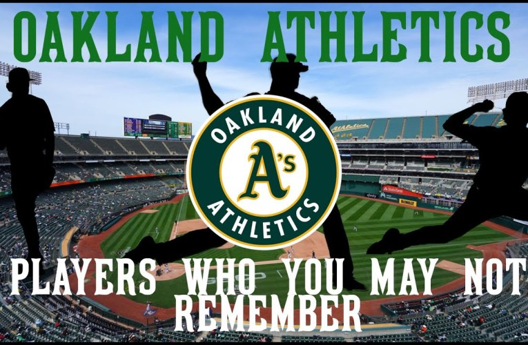 Oakland A's players you might not remember from the last 7 years