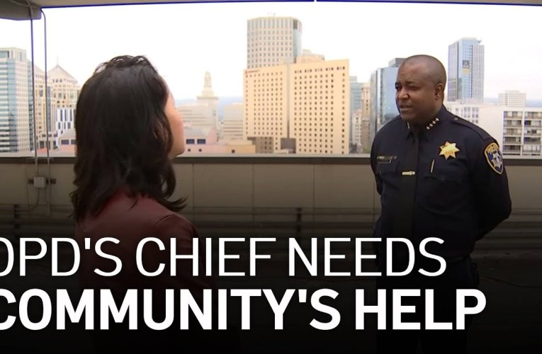 Oakland Police Chief Plans to Work With Community to Prevent Crime