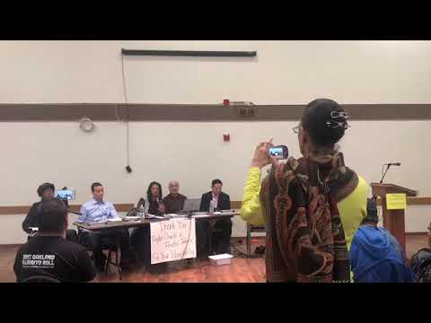 Oakland Police Commission Hearing 2/16/19 Policing in Homeless Community