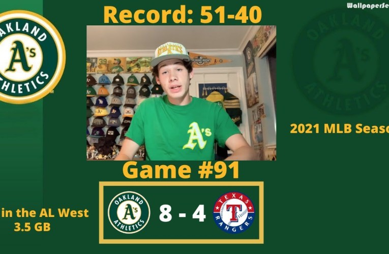 The A's and Rangers Battle Until the End, Oakland Wins in Extra Innings, and Jed Lowrie Hits Great