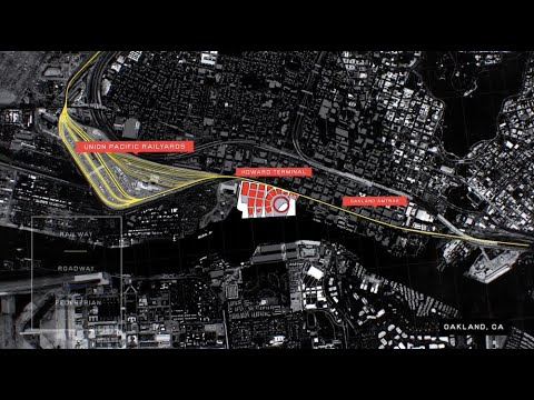 Union Pacific Video On Oakland A's Howard Terminal Ballpark And Train Route Impacts