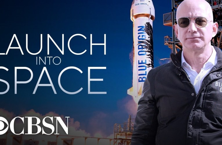 Watch Live: Jeff Bezos launches to space aboard Blue Origin rocket
