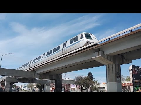 BART Old and New Trains Around Oakland and Berkeley