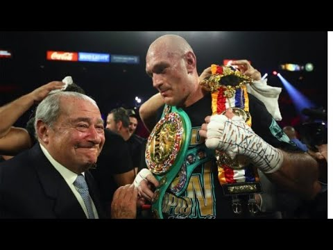 Boxing Promoter Bob Arum Setting Up A Fight Between Tyson Fury And Anthony Joshua By Eric Pangilinan