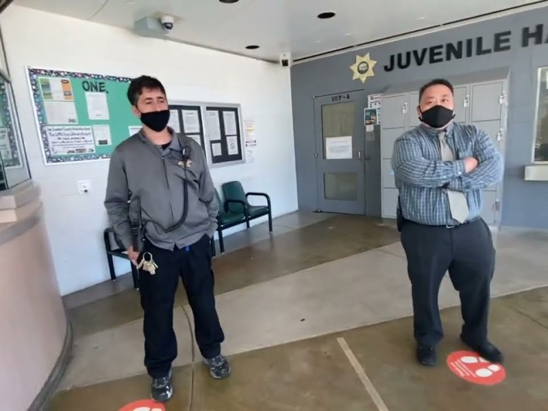 Bay Area Transparency Is Back And At Juvenile Probation Stockton, Ca
