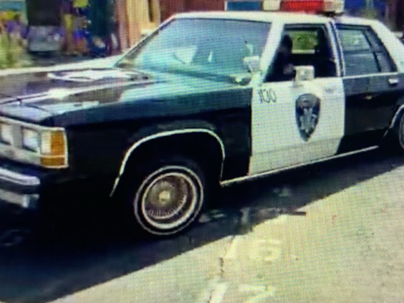 Oakland Police Backpack Giveaway Has Low-Rider Police Car, But Bulletproof Packs Are Needed