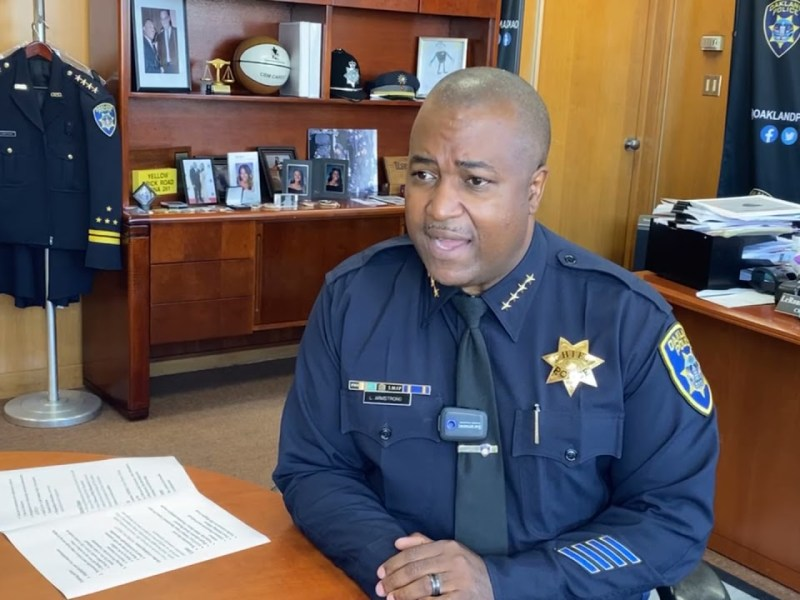 Oakland Police Chief Armstrong – On the Record August 11, 2021