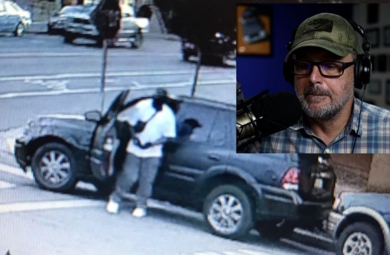 Retired Cop Reacts to Guy Stealing Toyota Sienna in Oakland – Private Investigator
