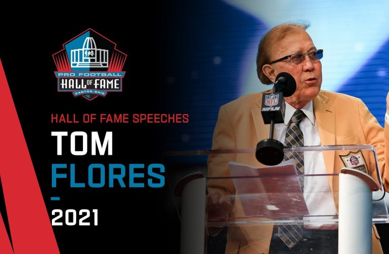 Tom Flores Full Hall of Fame Speech | 2021 Pro Football Hall of Fame | NFL