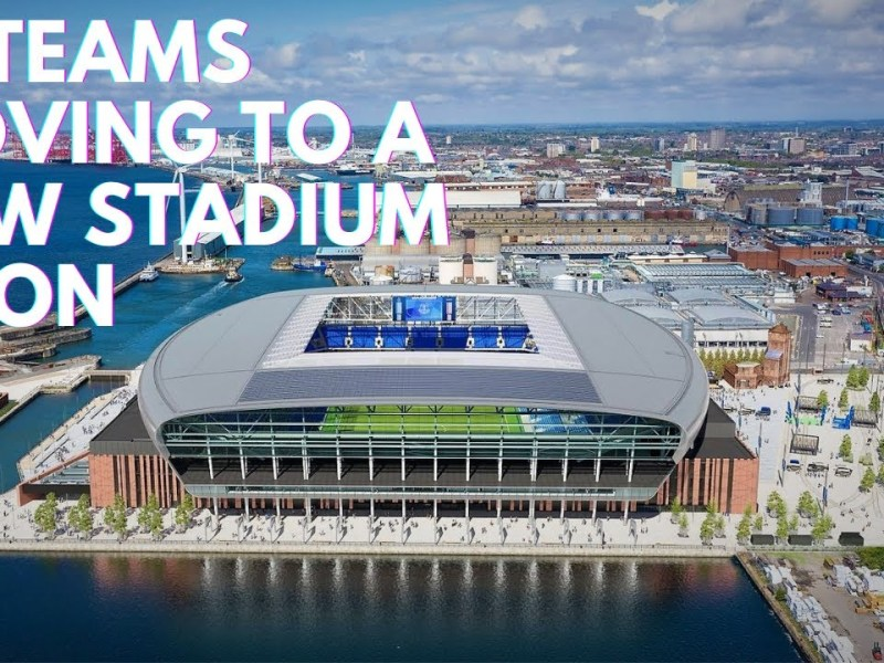 10 Teams Moving to a New Stadium Soon!