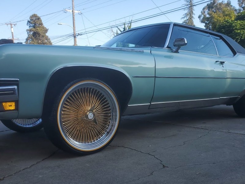 Buick Electra 225 on Fresh 22″ Gold Zeniths & Vogues from Oakland, Ca EP128