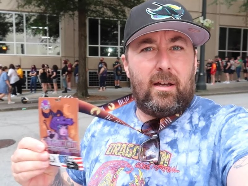 Dragon Con is Finally BACK in Downtown Atlanta – Lengthy Badge Pick Up Line / Wild Night of DCW 2021