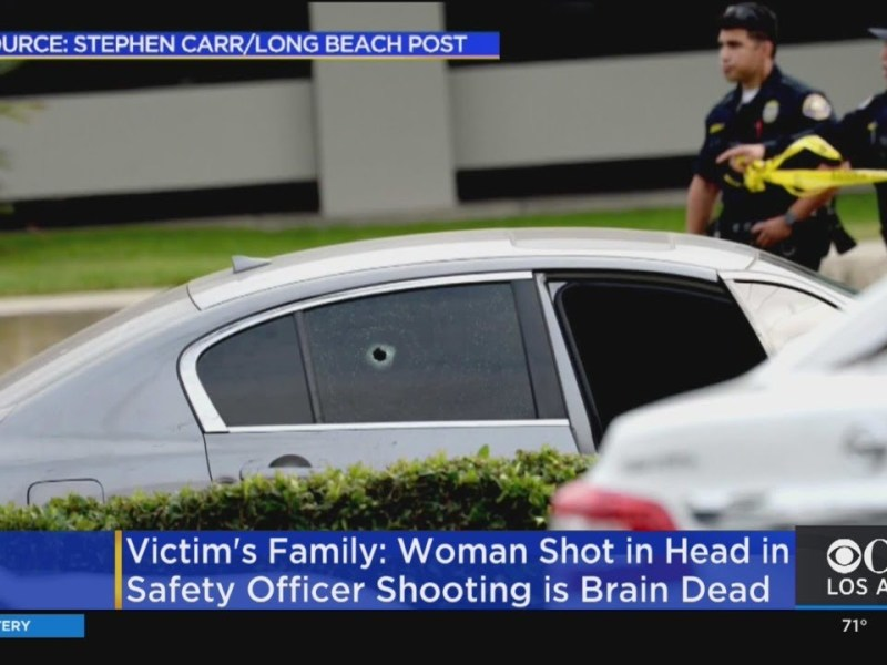 Family: Woman Brain Dead After Being Shot By School Safety Officer In Long Beach