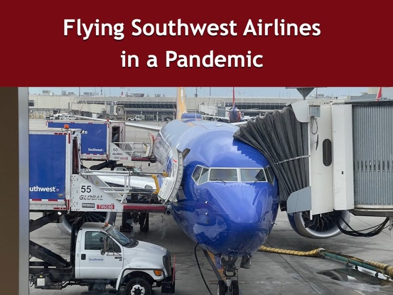 Flying Southwest Airlines in a Pandemic | Oakland to Long Beach | Trip Report