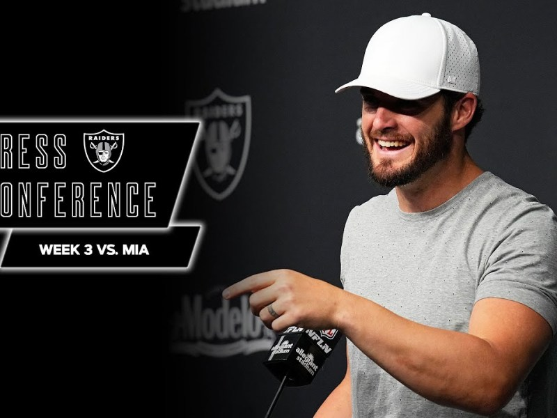 Gruden, Carr, Renfrow, Hayward Jr., Ruggs III and Barber Postgame Pressers | Week 3 vs. Dolphins