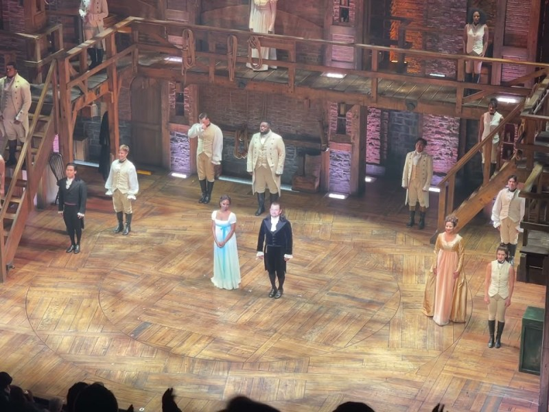 Hamilton Reopening Curtain Call – Cast Dance Party
