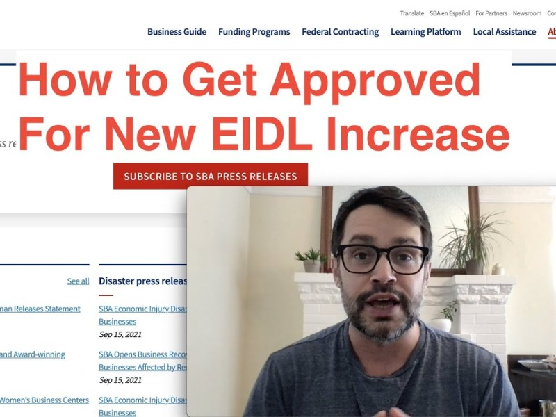 Here's How to Increase Your EIDL Funding