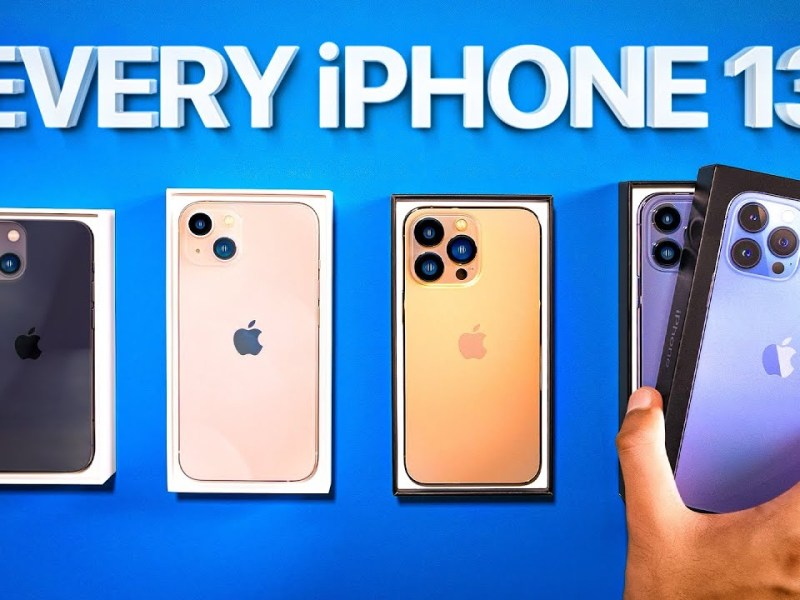 iPhone 13 Unboxing – Are they ACTUALLY Good!?