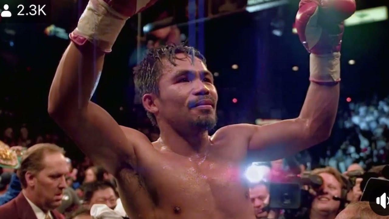 It's Official Manny Pacquiao Has Retired Here's His Full Speech – End Of An Era The GOAT Pacquiao - Blog