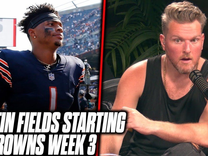 Justin Fields First NFL Start Will Come Against The Browns | Pat McAfee Reacts