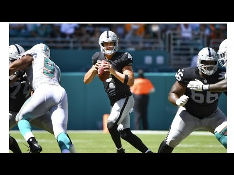Las Vegas Raiders Vs Dolphins Won't Be Aired On Some Tv Market In California By Eric Pangilinan