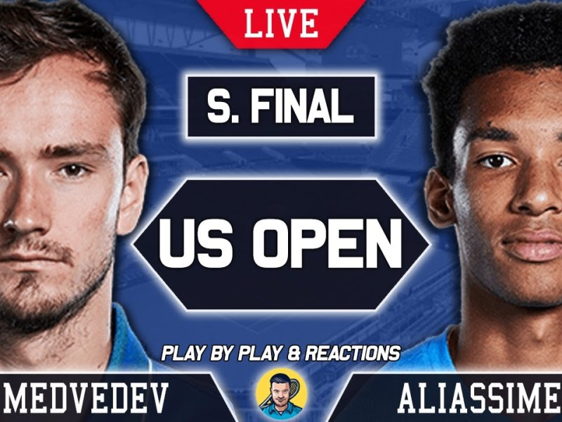 MEDVEDEV vs AUGER ALIASSIME | US Open 2021 | LIVE Tennis Play-by-Play