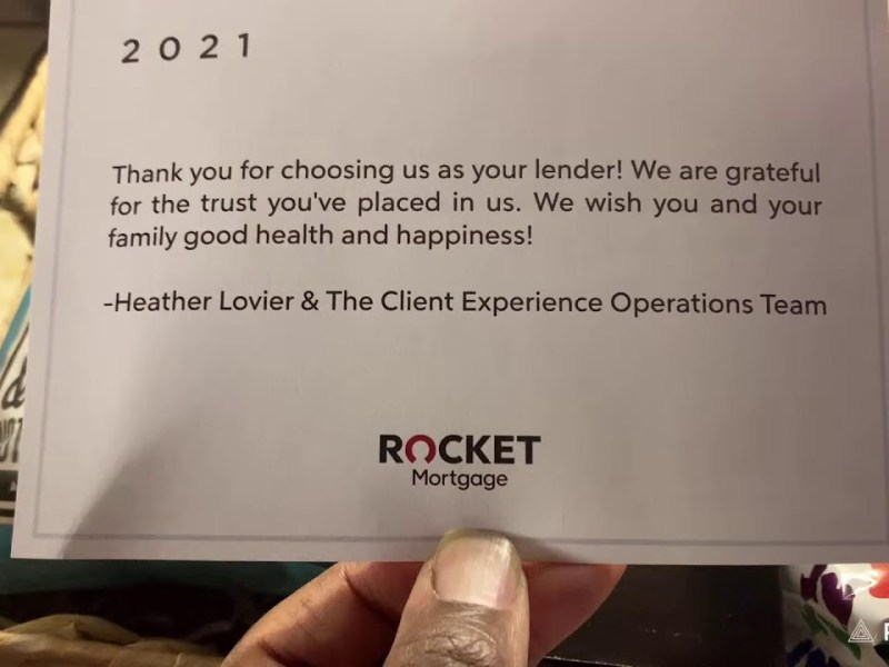 Mom Gets Surprise Giant Gift Box From Rocket Mortgage Sent Via UPS