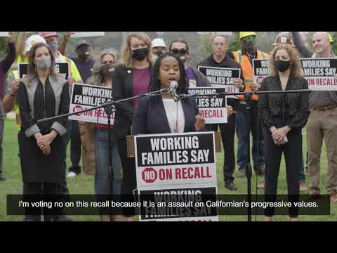 Oakland City Council Member Caroll Fife says vote NO on the Recall