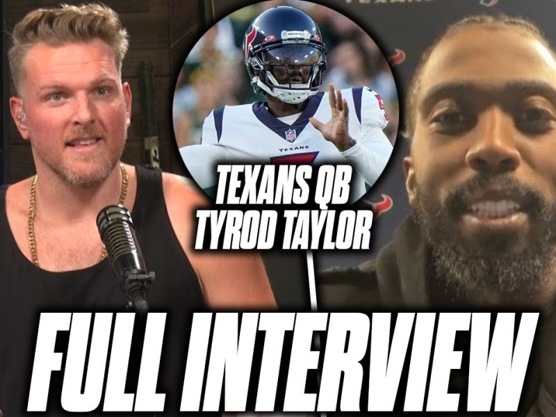 Pat McAfee Talks To Tyrod Taylor About Move To Texans, Very Unfortunate Career Path