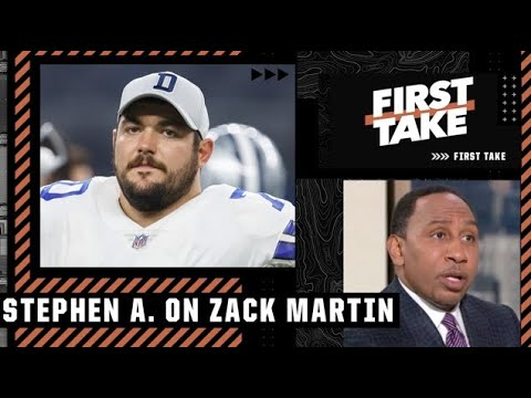 Stephen A. & Michael Irvin react to Cowboys' Zack Martin testing positive for COVID-19   First Take