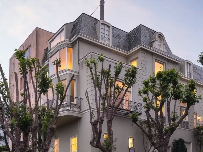 San Francisco Marina District Mansion Once Owned By Hills Bros. Coffee Scion For Sale