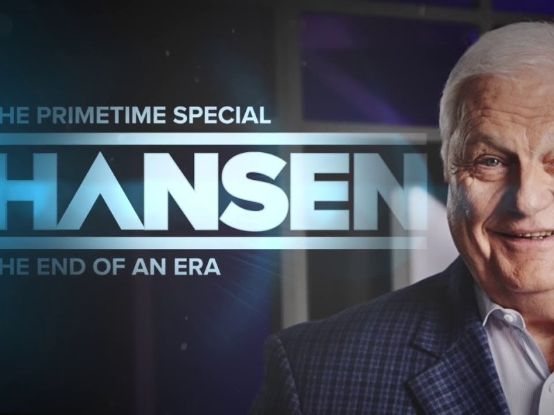 Mark Cuban Hosts Dallas WFAA Sports Director Dale Hansen On A TV Special On His Retirement