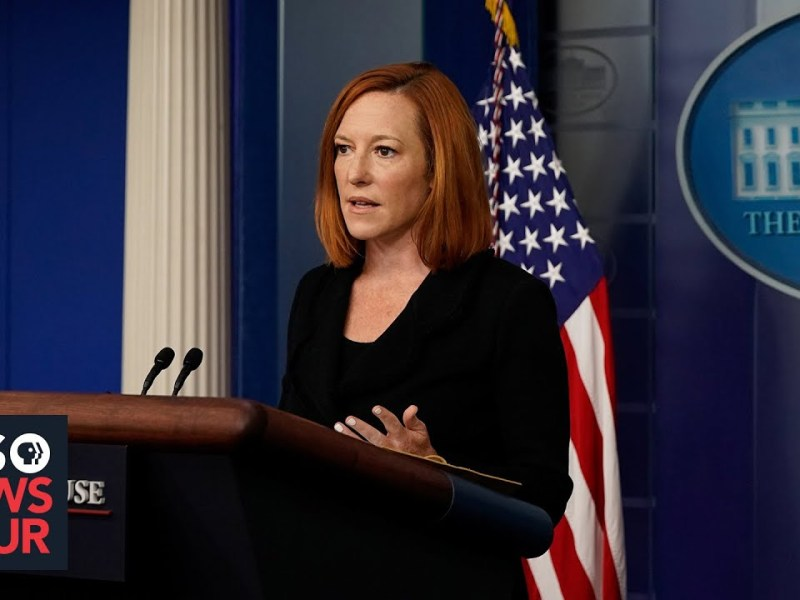 WATCH LIVE: Jen Psaki holds White House Briefing