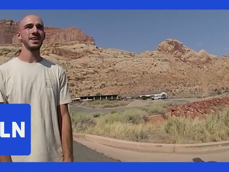 Woman Says She Picked up Brian Laundrie Homicide Victim Gabby Petito's Fiance Hitchhiking