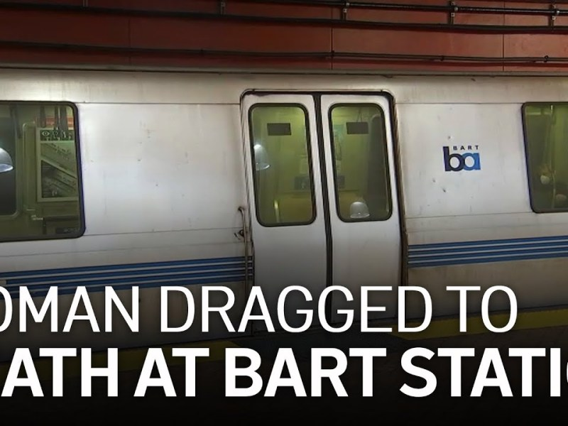 Woman Tethered to Dog Dragged to Death by Train at San Francisco BART Station