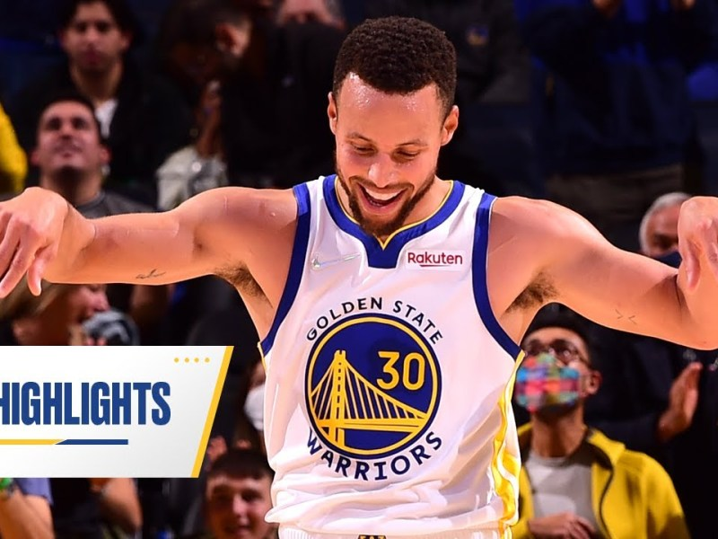 41 Points in 30 Minutes?! Stephen Curry Got Buckets on Warriors Ground | Oct. 15, 2021