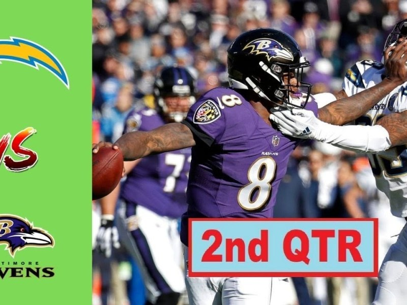 Baltimore Ravens vs Los Angeles Chargers Highlight 2nd Qtr | Week 6 | NFL Season 2021-22
