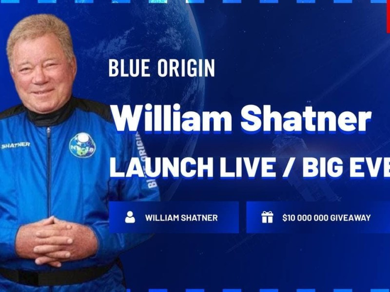 Blue Origin – NS-18 New Shepard Space Flight Mission with William Shatner On-Board | Live Launch