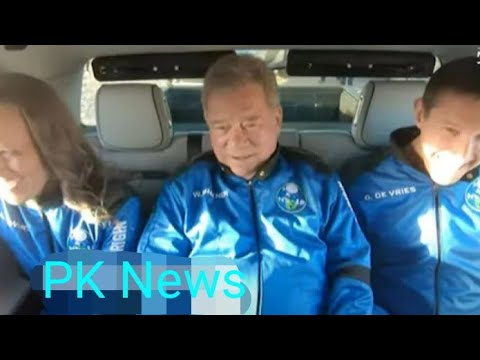 Blue Origin: William Shatner makes history as oldest person in space