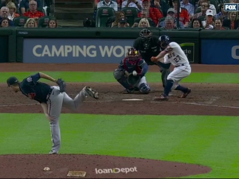 Braves Charlie Morton Strikes Out Two With Broken Leg 👑💪World Series Game 1 Charlie Warrior 10/26/21