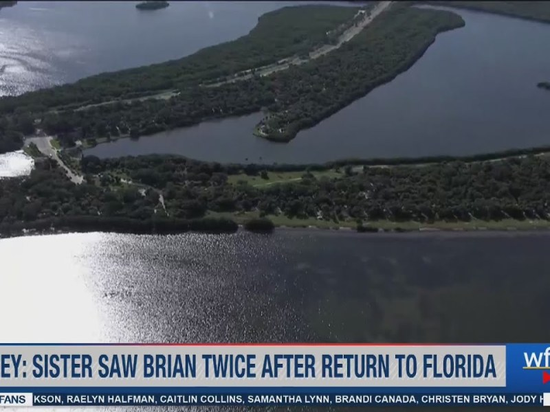 Brian Laundrie's sister saw him twice after return to Florida, was at Fort De Soto with family: atto