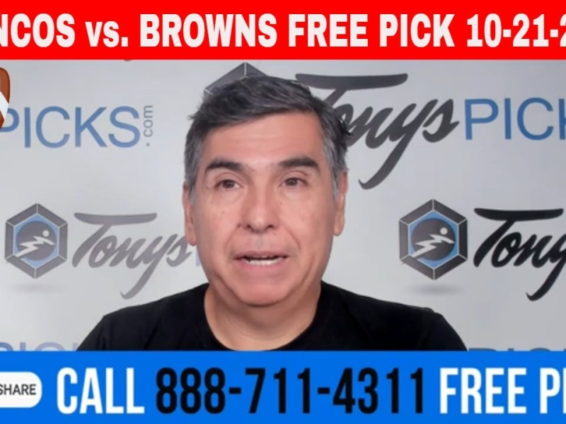 Broncos vs. Browns 10/21/21 FREE NFL Picks and Predictions on NFL Betting Tips for Today