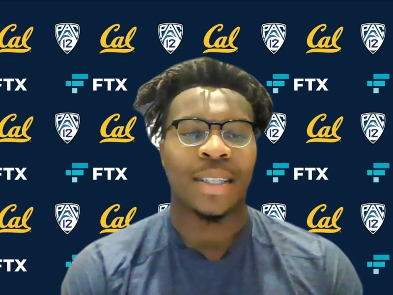 Cal Football: Marqez Bimage Press Conference (10.23.21)