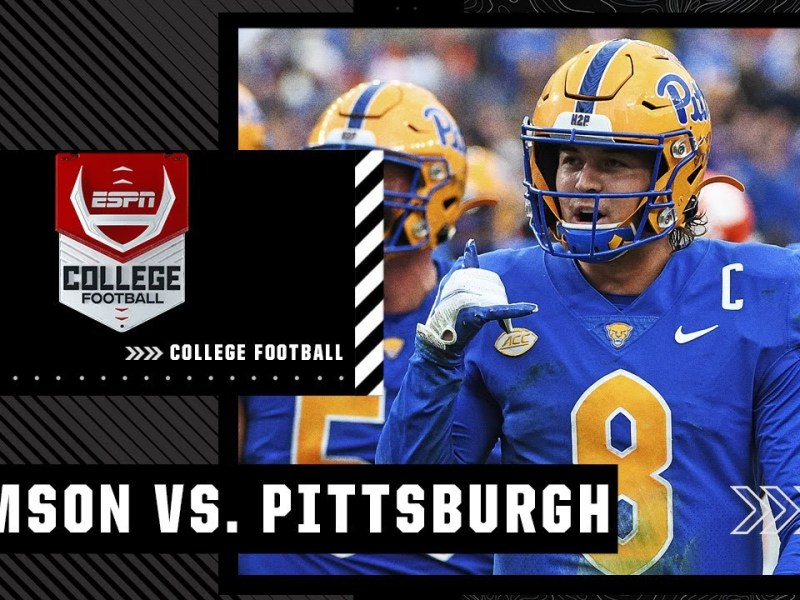 Clemson Tigers at Pittsburgh Panthers | Full Game Highlights